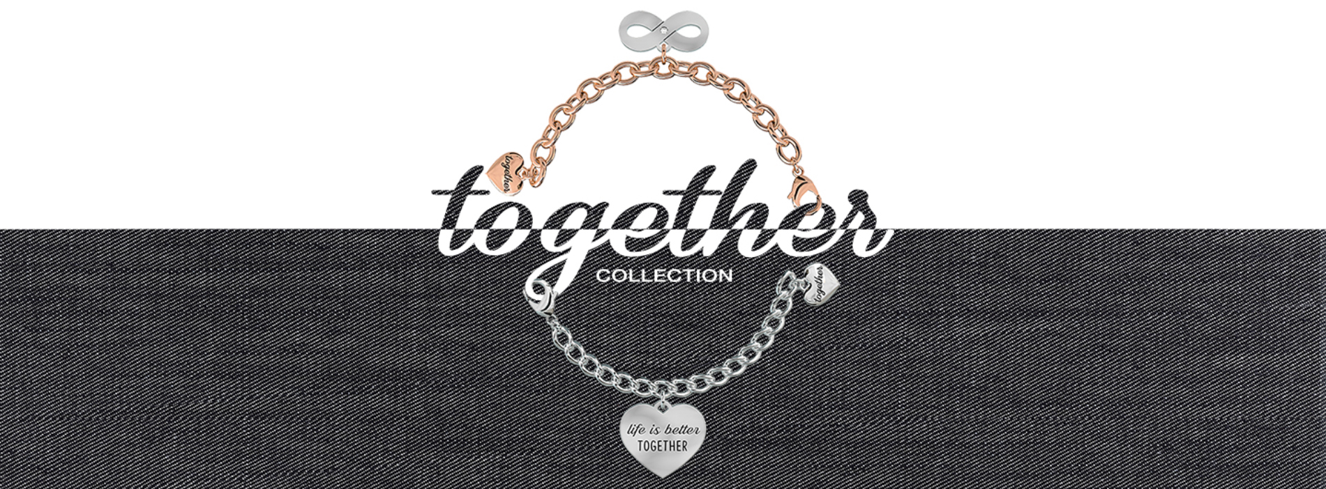 Bracciali 2jewels componibili together donna
