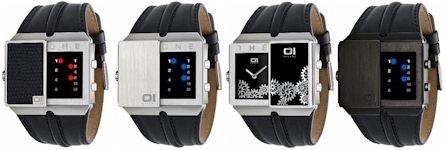 orologio sistema binario